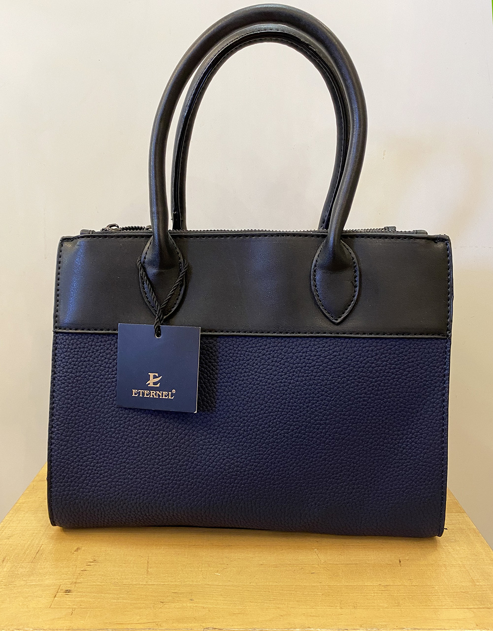 blå väska